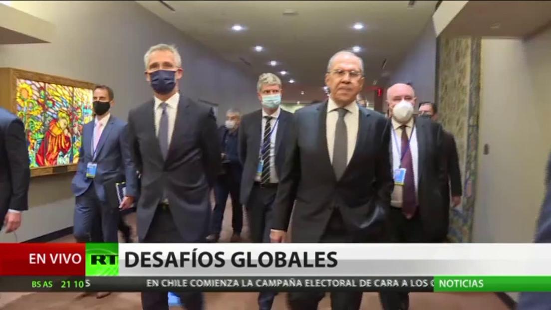 Comienza la agenda de trabajo del canciller ruso Serguéi Lavrov en el marco de la Asamblea General de la ONU