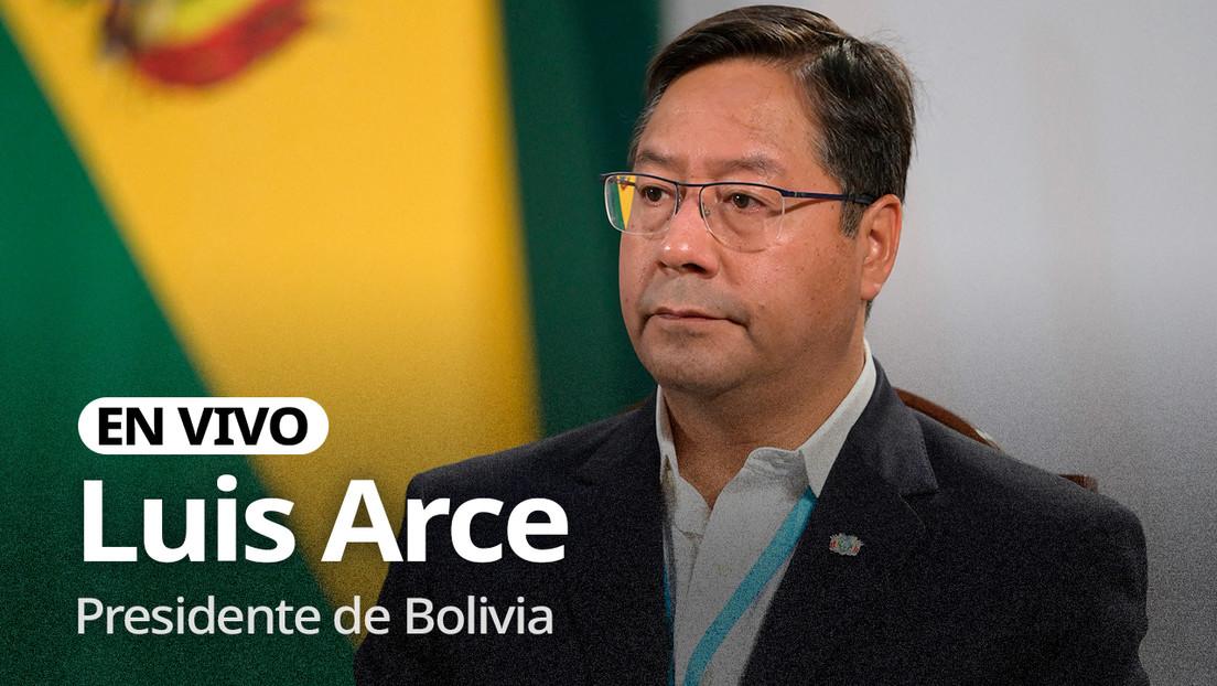 Image EN VIVO: Luis Arce propone ante la ONU que el acceso a las vacunas anticovid sea