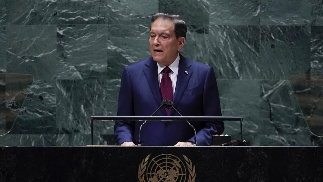 """""""Es una responsabilidad de todos"""": Cortizo pide ante la ONU apoyo a la comunidad internacional para hacer frente a la crisis migratoria"""