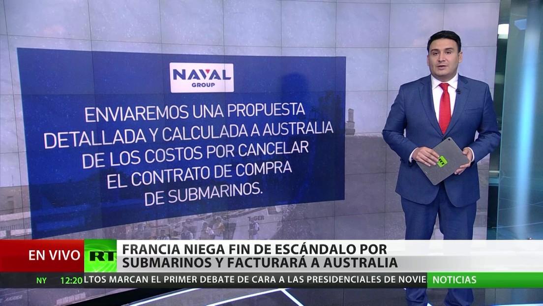 Francia niega el fin del escándalo por los submarinos y se dispone a facturar a Australia