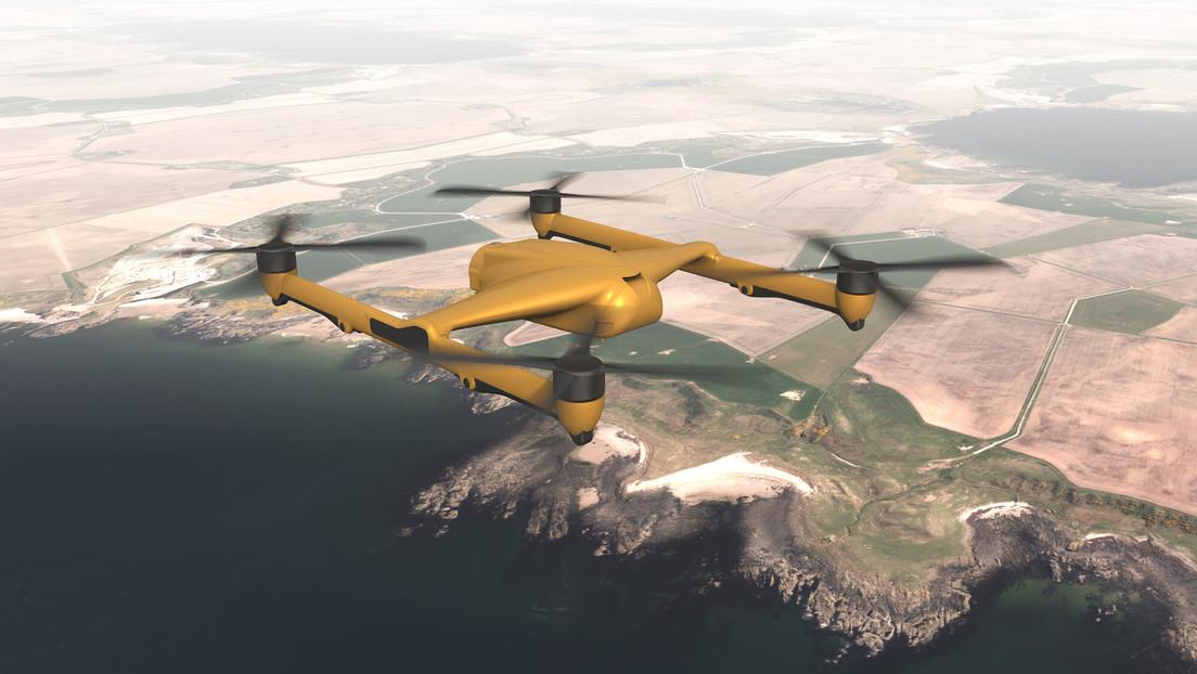 Fabricantes británicos presentan un nuevo dron pesado 'cazasubmarinos' propulsado por energía eléctrica y con una carga útil de hasta 300 kilos