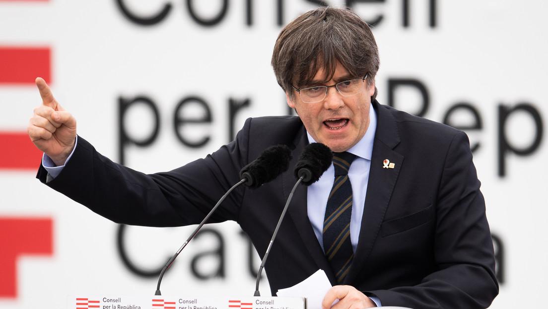 El expresidente de Cataluña, Carles Puigdemont, detenido en la isla italiana de Cerdeña por orden de busca y captura del Tribunal Supremo español