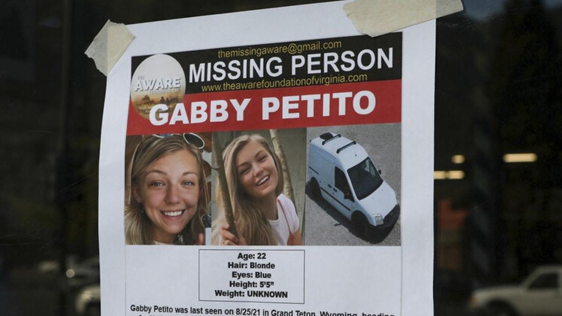 El FBI anuncia orden de arresto contra el novio de la 'youtuber' Gabby Petito, tras confirmarse que su muerte fue un homicidio