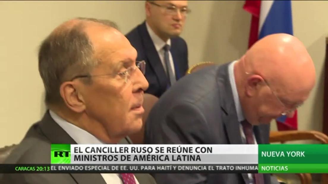 El canciller ruso se reúne con ministros de América Latina