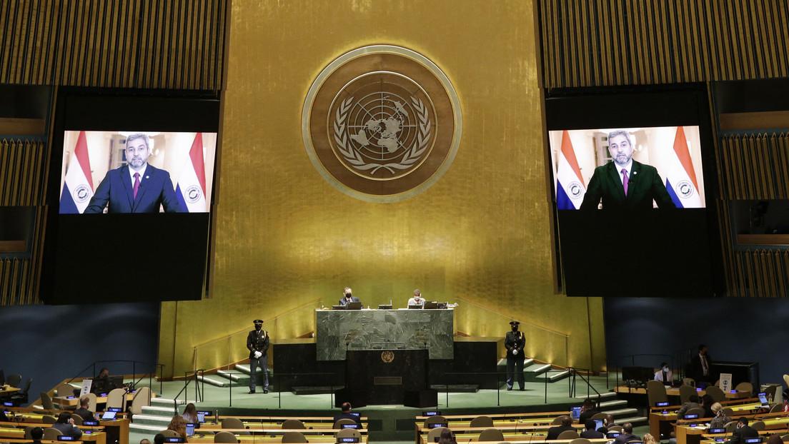 """Abdo Benítez expresa ante la ONU su """"profunda decepción"""" ante el sistema multilateral de distribución de vacunas"""