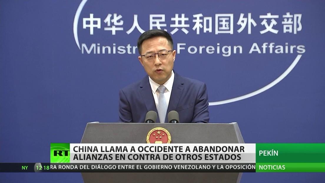 China llama a Occidente a abandonar las alianzas en contra de otros estados