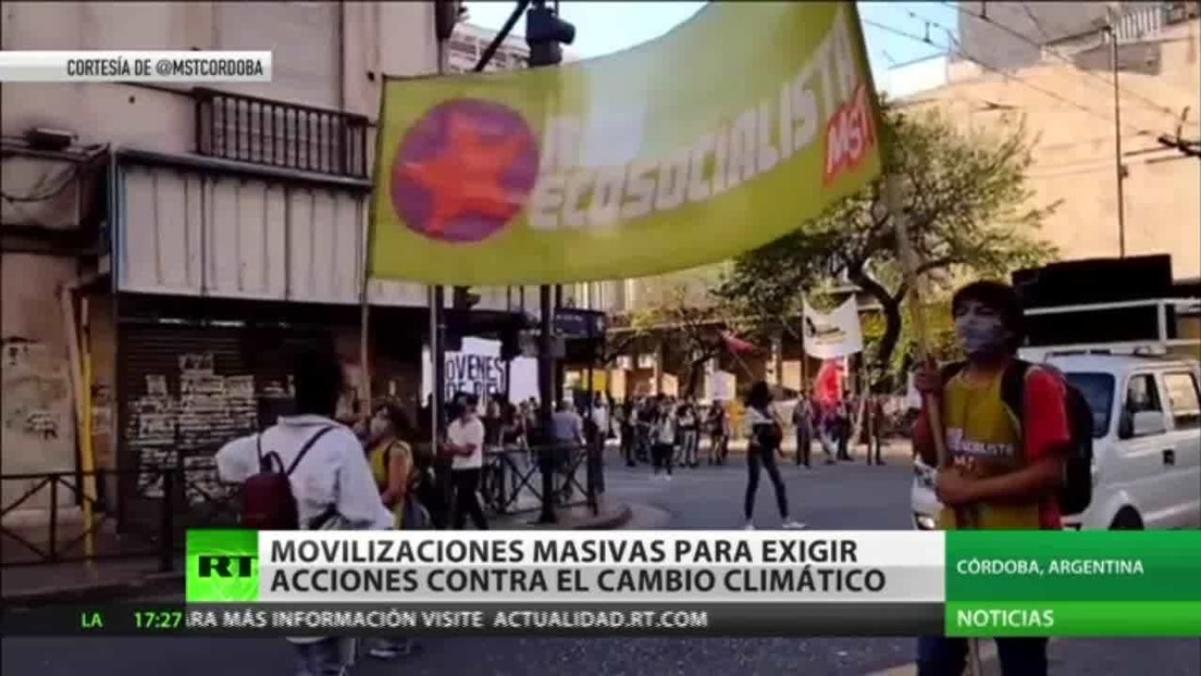 Movilizaciones masivas en varios países para exigir acciones contra el cambio climático
