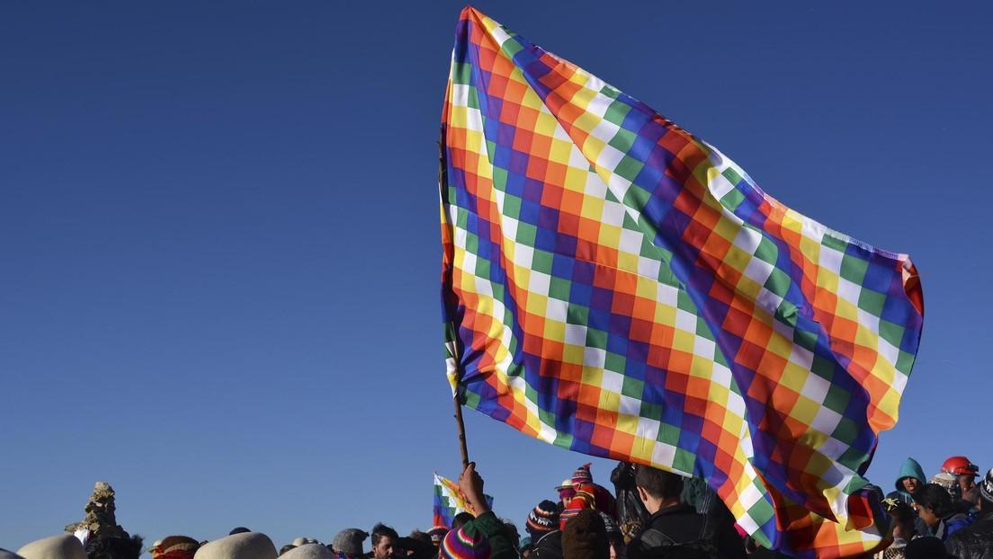 """El Gobierno de Bolivia denuncia a las autoridades de Santa Cruz por """"separatismo"""", """"racismo"""" y """"ultraje"""" contra la Wiphala"""