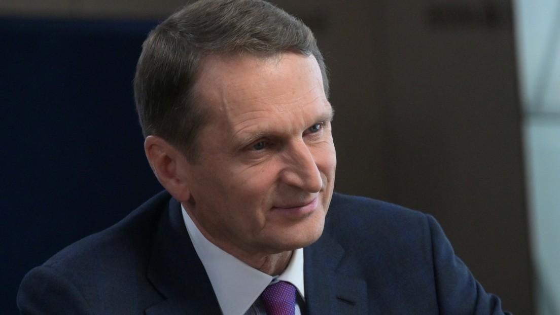 """El jefe del Servicio de Inteligencia Exterior ruso declara que la situación en Afganistán es """"consecuencia de la perniciosa política de EE.UU."""""""