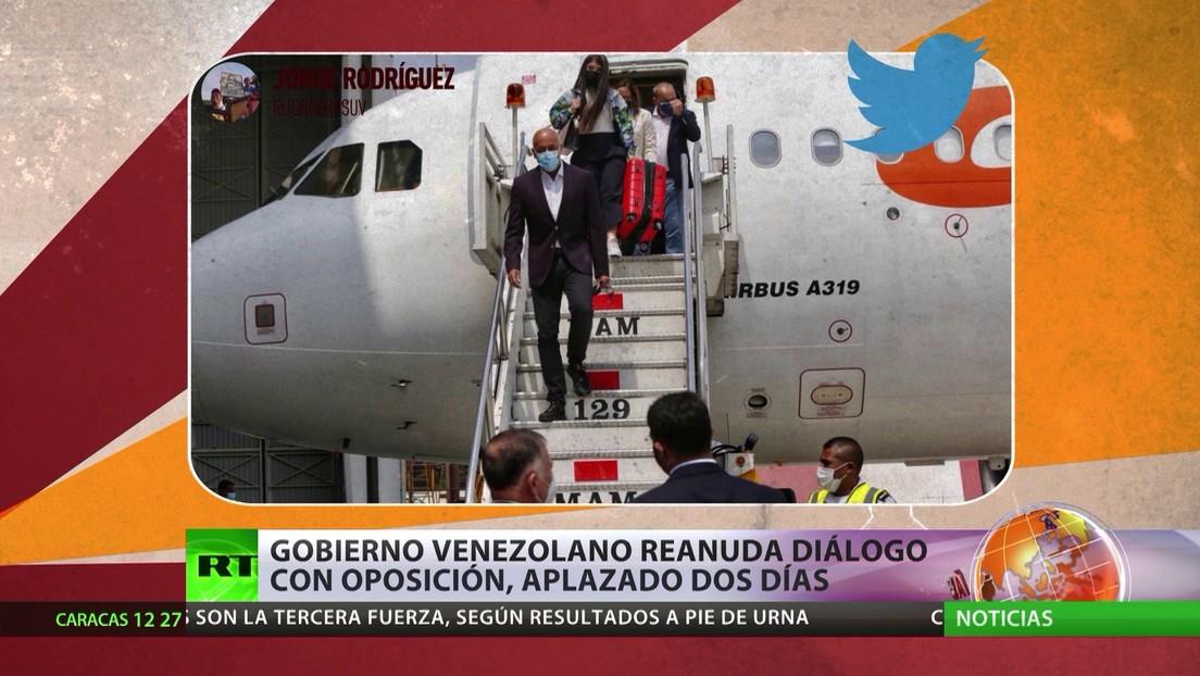 El Gobierno venezolano reanuda los diálogos con la oposición, aplazados dos días por los comentarios de Noruega ante la ONU