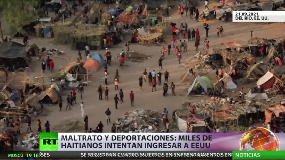 Haití denuncia ante la Asamblea General de la ONU el trato recibido por sus migrantes en la frontera sur de EE.UU.
