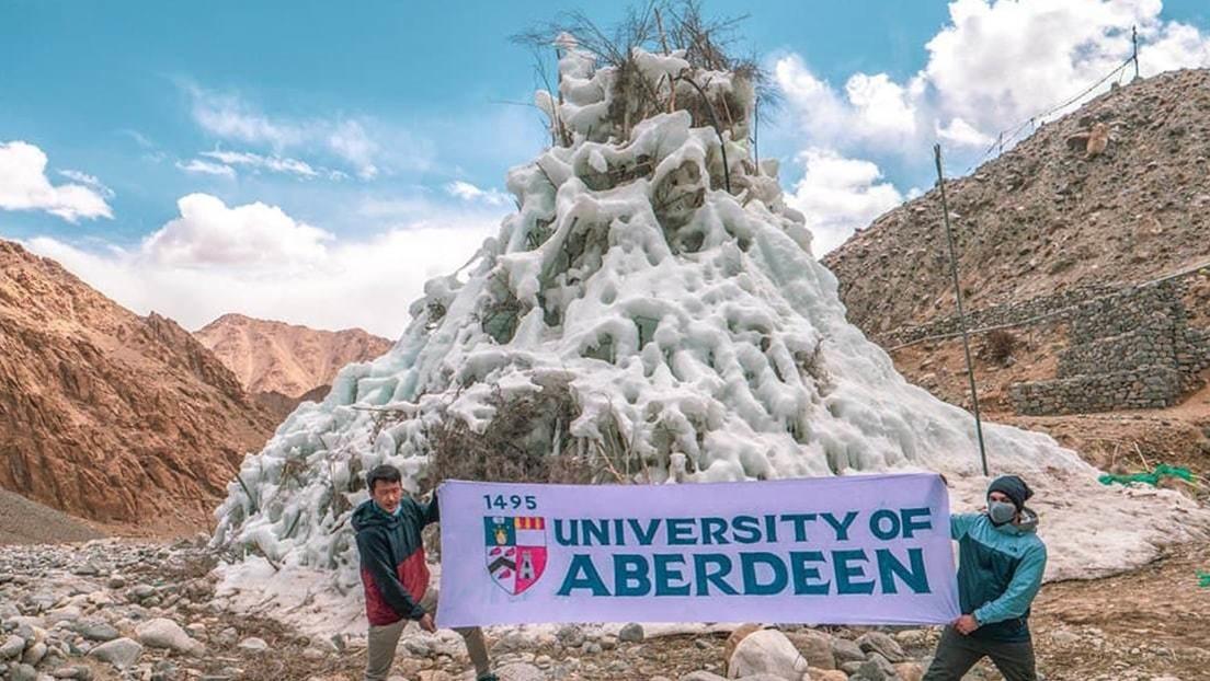 Estupas de hielo artificiales en los lugares más áridos del planeta: el nuevo proyecto que podría generar millones de litros de agua anuales