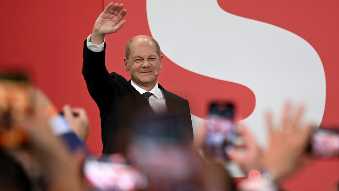 Socialdemócratas superan al bloque de Merkel en elecciones de Alemania