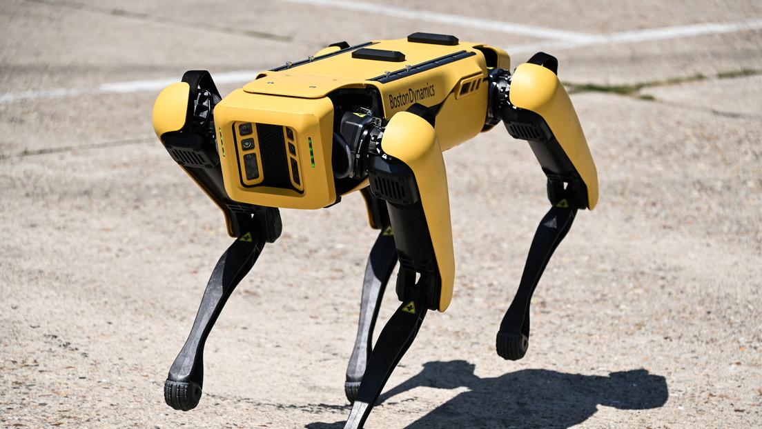 Una artista pinta cuadros clásicos con robots en lugar de humanos y Boston Dynamics le proporciona un asistente