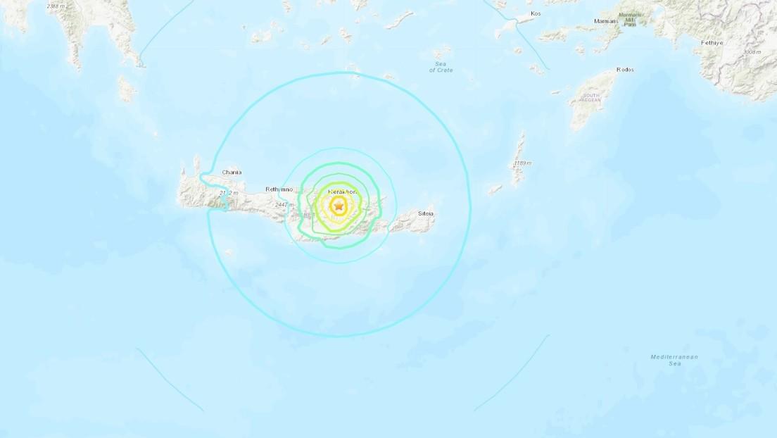 Un sismo de magnitud 6,0 sacude a Grecia y se producen múltiples réplicas (FOTOS, VIDEOS)