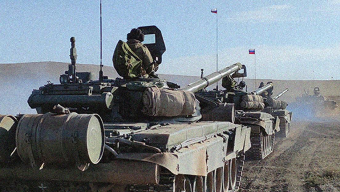 VIDEO: Unidades motorizadas de Rusia y Mongolia se entrenan en una ofensiva coordinada