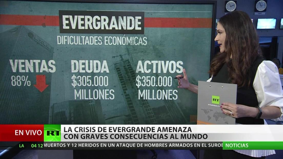 La crisis de Evergrande amenaza con severas consecuencias a nivel mundial