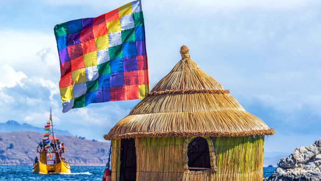 """""""Tenemos que salir de la lógica racista, ¡la wiphala se respeta!"""": Arce defiende a la bandera indígena que fue despreciada (una vez más) en Santa Cruz"""