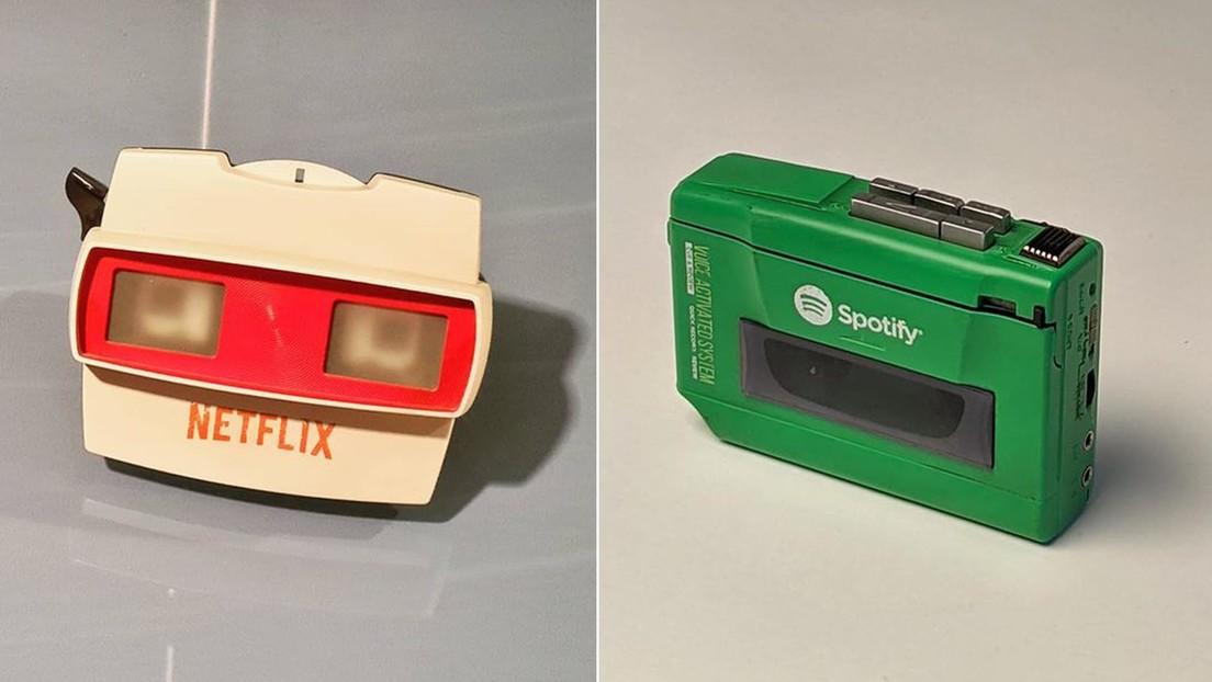 Un diseñador recrea cómo se habrían visto Google, Facebook, Instagram y otras populares plataformas antes de la era de Internet