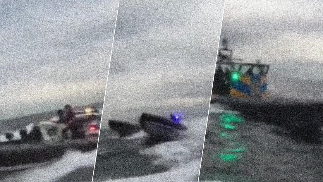 VIDEO: Se produce un enfrentamiento entre patrulleras de la Guardia Civil española y la Royal Navy británica cerca de Gibraltar