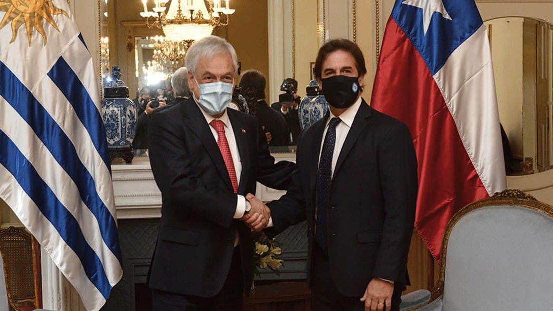 Los presidentes de Chile y Uruguay se reúnen en Montevideo con una agenda centrada en la economía y el covid-19