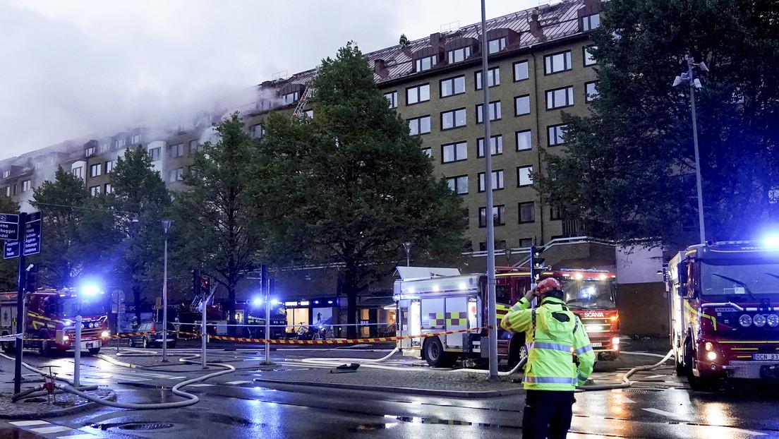 Suecia: Al menos 25 heridos tras una fuerte explosión en un edificio residencial en Gotemburgo (FOTOS, VIDEO)