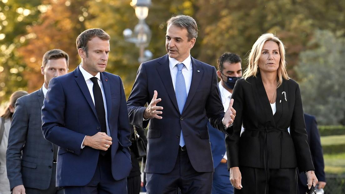 Macron anuncia que Grecia comprará cazas Rafale y tres fragatas a Francia