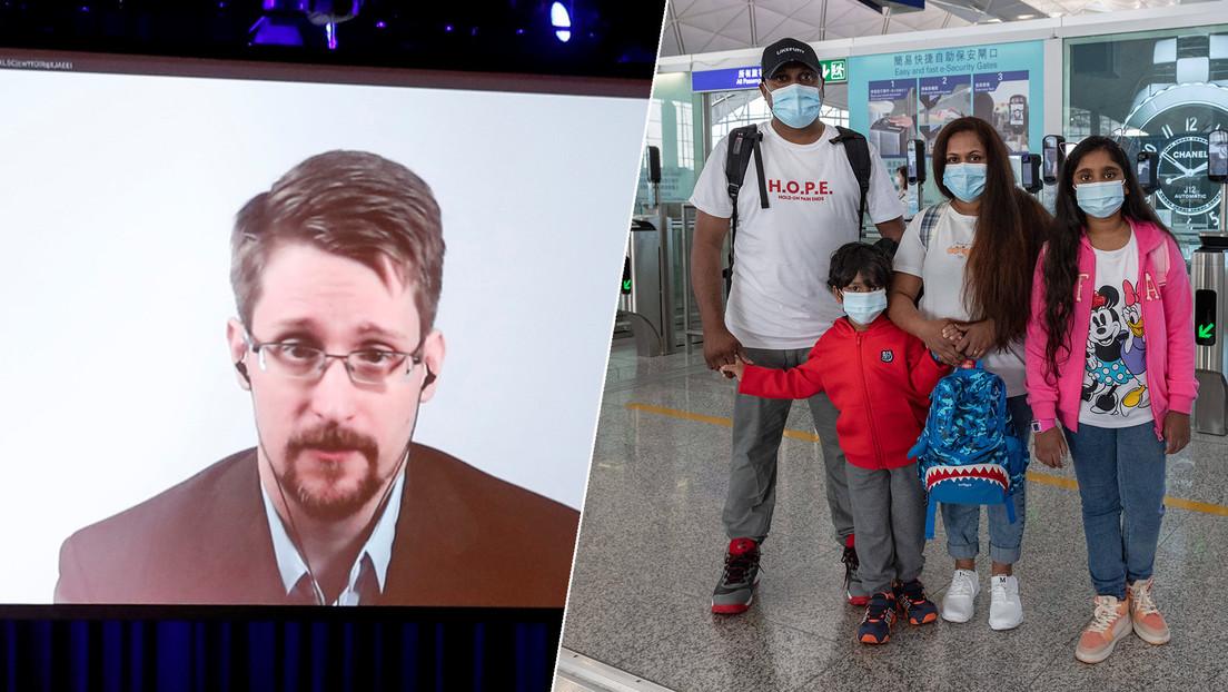 Canadá otorga refugio a la familia que escondió a Edward Snowden en Hong Kong tras su filtración de documentos de la NSA