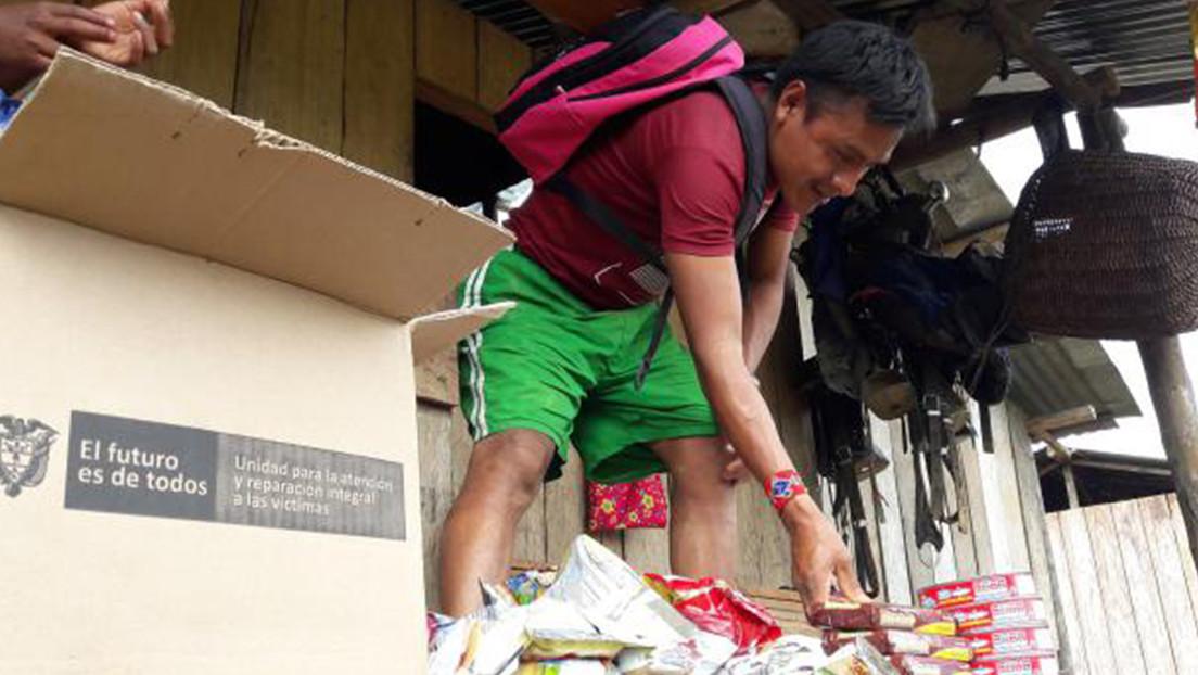 Crisis humanitaria: cerca de 1.000 indígenas colombianos emberá están desplazados en el departamento de Antioquia