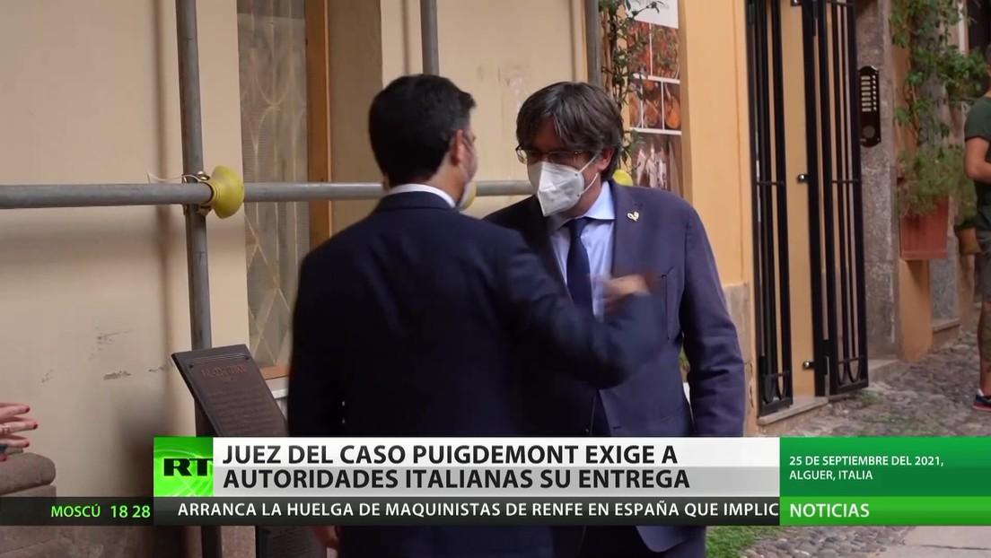 La Justicia española exige a las autoridades italianas la extradición de Carles Puigdemont