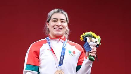 La halterofilista mexicana Aremi Fuentes.