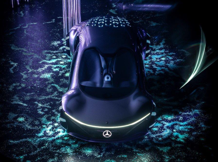 61363c5059bf5b1f5f601735 Mercedes Benz presenta un coche futurista sin volante e inspirado en la película Avatar, que se maneja con la mente