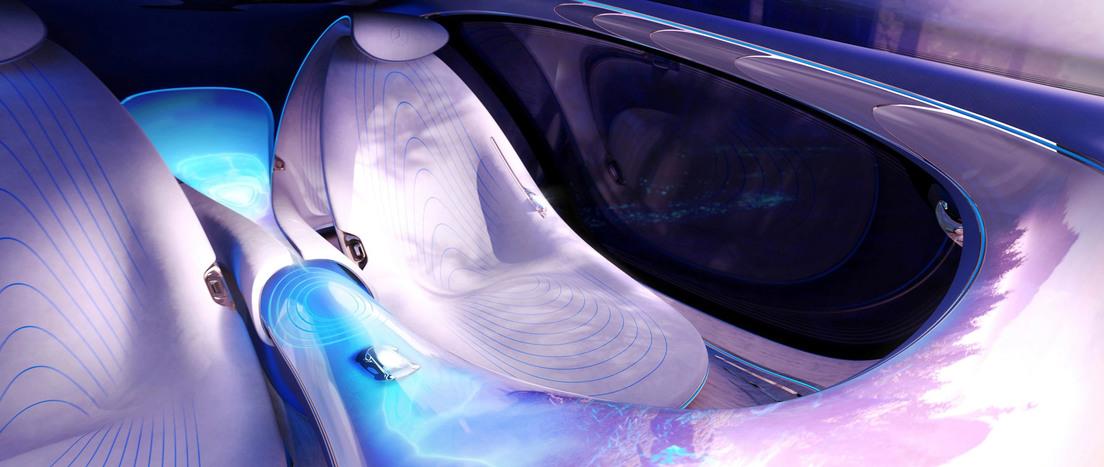 61363c5059bf5b1f5f601738 Mercedes Benz presenta un coche futurista sin volante e inspirado en la película Avatar, que se maneja con la mente