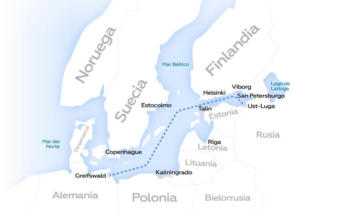 """Concluye la construcción del """"Nord Stream 2"""", el gasoducto de más de 1.200 km desde Rusia hasta Alemania - septiembre 10, 2021 8:50 am - NOTIGUARO - Internacionales"""