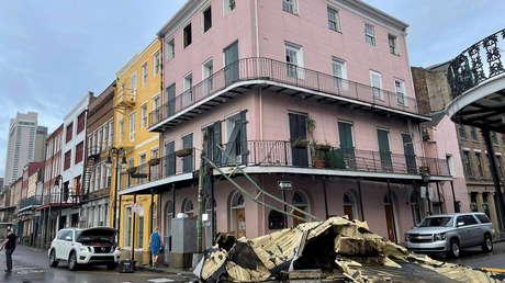 Arrestan a decenas de personas en Nueva Orleans por perpetrar saqueos tras el paso del huracán Ida
