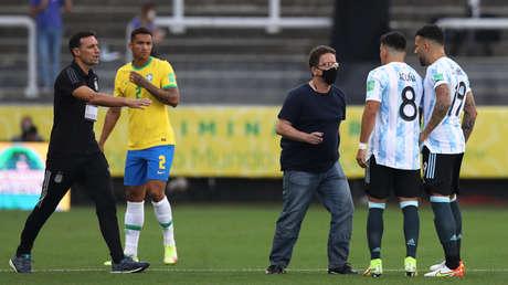 Los mejores memes de la suspensión del partido entre Brasil y Argentina