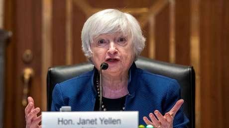 """Secretaria del Tesoro advierte que las arcas de EE.UU. pueden agotarse el próximo mes, causando """"un daño irreparable a la economía"""""""