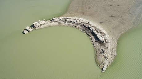 FOTOS: Inundada ciudad romana de hace casi 2.000 años resurge en Turquía