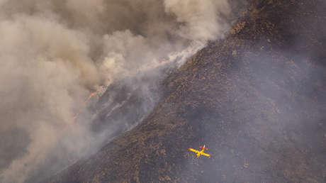 ¿Qué es un incendio de sexta generación como el que está arrasando el sur de España?