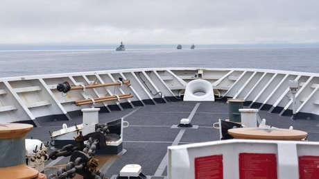 Cuatro buques de guerra chinos habrían navegado cerca de Alaska en medio de tensiones con EE.UU., revela un informe