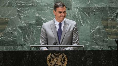 Pedro Sánchez anuncia en la ONU que España destinará 30 millones de euros al Fondo de Adaptación al cambio climático en 2022