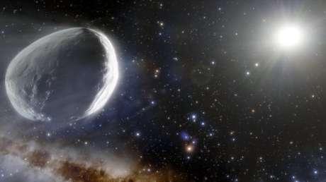Astrónomos calculan que el megacometa que se dirige hacia el Sol es probablemente 7 veces más grande que una de las lunas de Marte
