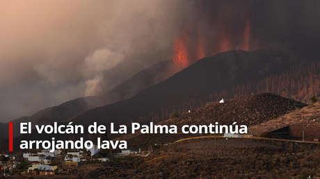 EN VIVO: El volcán de La Palma expulsa lava