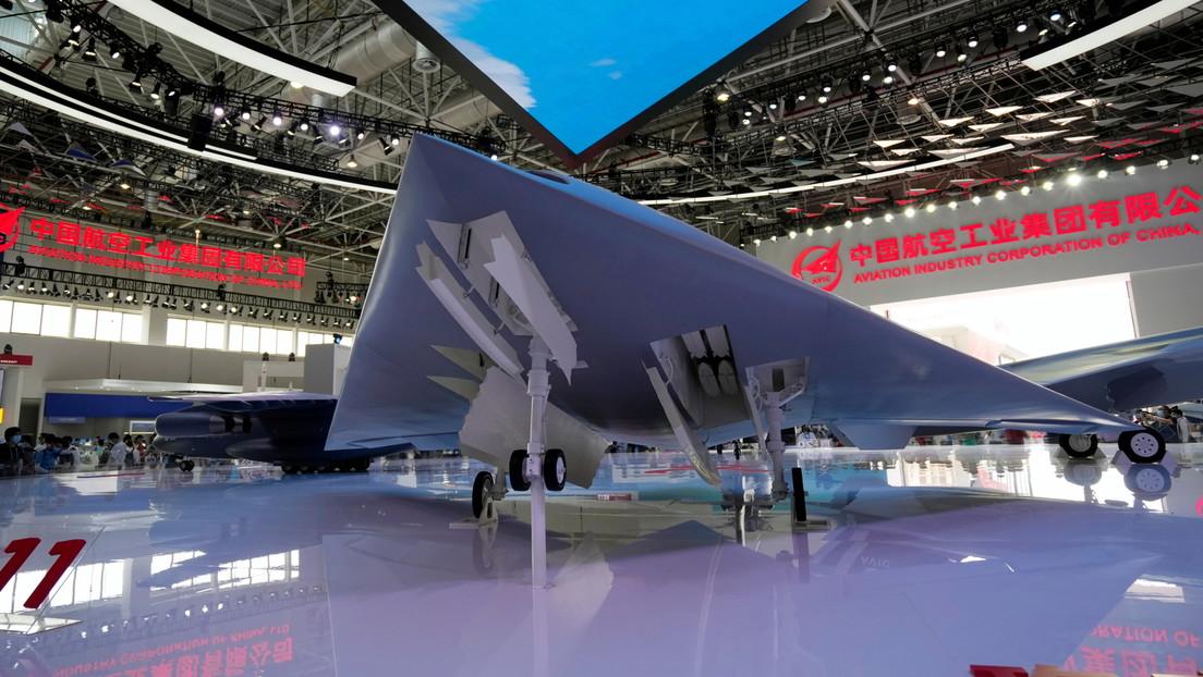 FOTOS: China expone en el principal salón aéreo del país sus nuevos aviones y drones hasta hace poco secretos