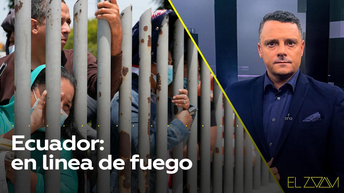Ecuador: en línea de fuego
