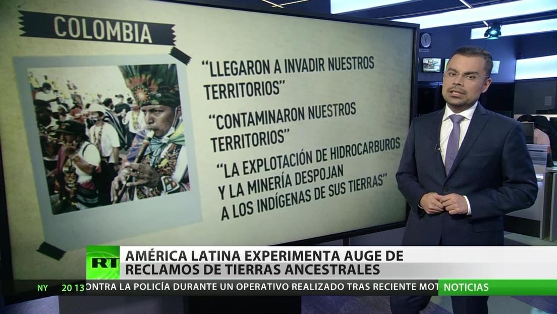 América Latina experimenta un auge de reclamos de tierras ancestrales