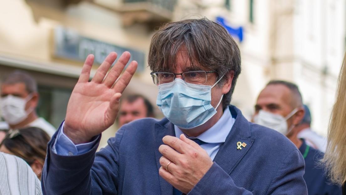 El expresidente de Cataluña Carles Puigdemont declara ante la Justicia italiana sobre la euroorden de entrega a España
