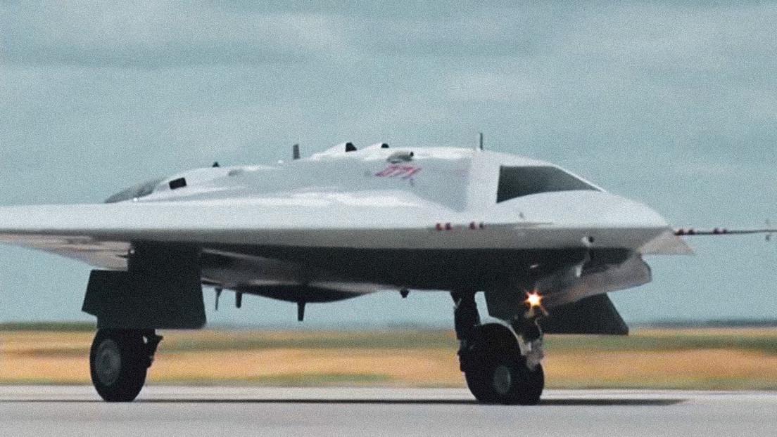 Rusia revela cómo funciona su dron de ataque y reconocimiento que interactuará con cazas furtivos
