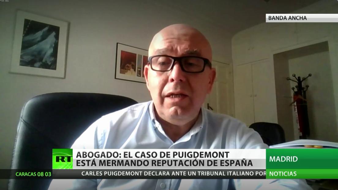 """Abogado de Puigdemont: El caso del expresidente de Cataluña le cuesta a España """"un precio reputacional muy elevado"""""""