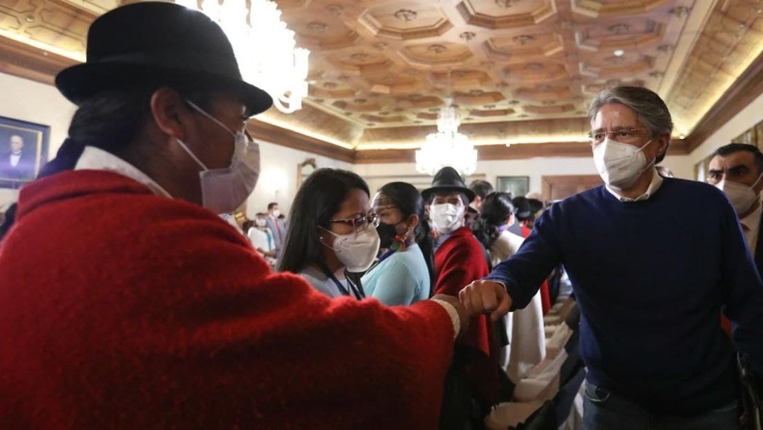 """""""No hay apertura por parte del presidente"""": El encuentro entre Lasso y la dirigencia del movimiento indígena en Ecuador culmina sin acuerdo"""